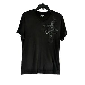 Calvin Klein mens v- neck t-shirt
